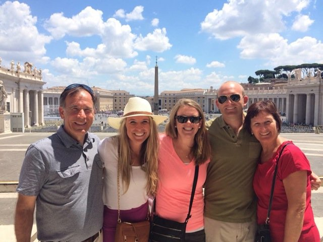Day 4-St. Peter's Square-Family