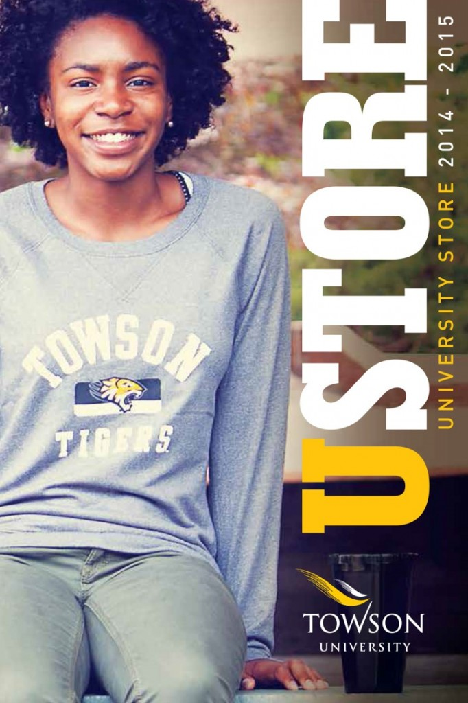 Using real students as models is a great way to market your merchandise.