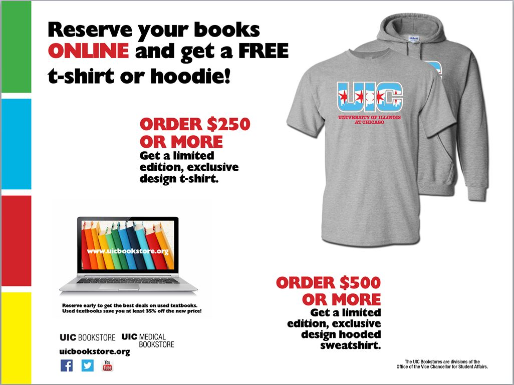 UIC Bookstore Increases Online Textbook Reservations by 22%
