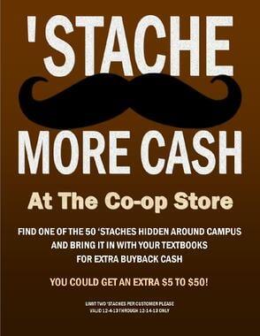 'Stache More Cash