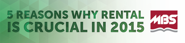5 Reasons Why Rental is Crucial in 2015