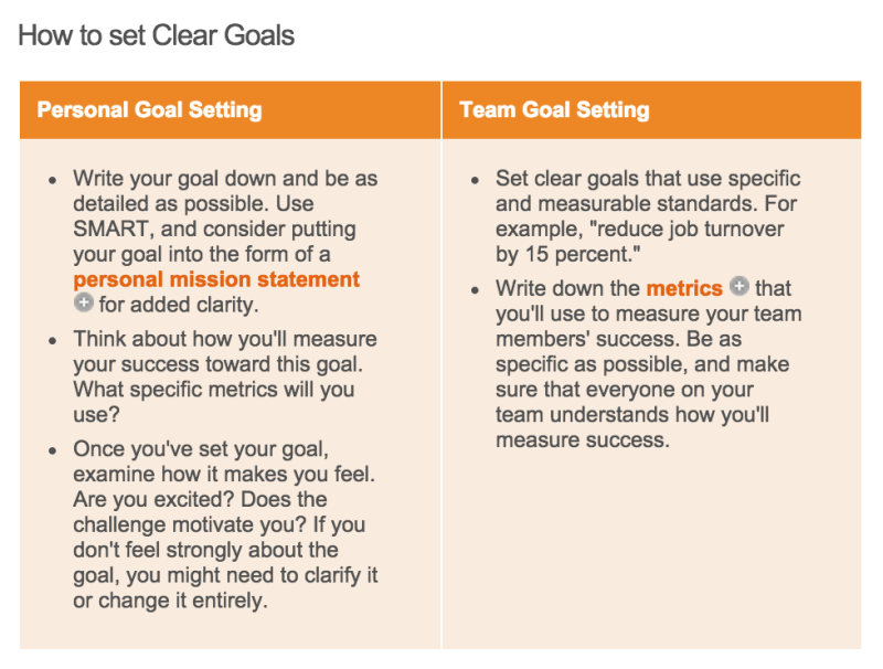locke latham goal setting