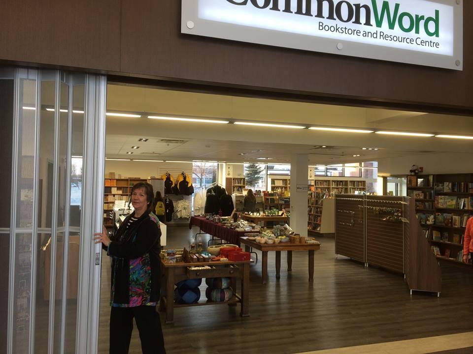 Anita Neufeld unveils the new CommonWord space.