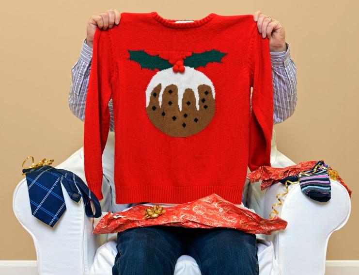 Christmas Sweater Present