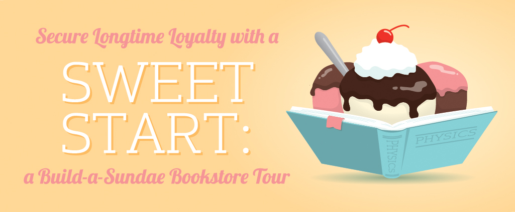 Build a sundae bookstore tour