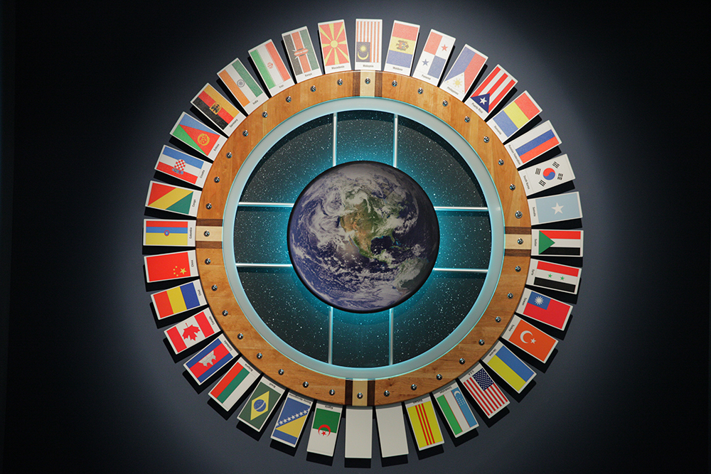 The diversity wheel in the warehouse mezzanine is a testament to the diversity at MBS.