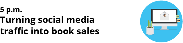 how to sell books on social media - social traffic into book sales