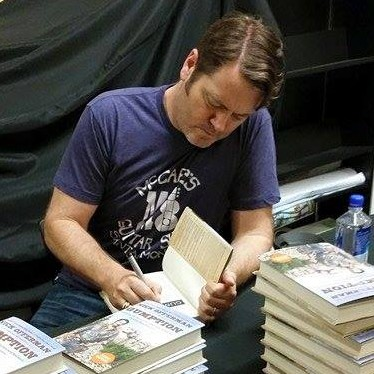 The University Book Store Welcomes Nick Offerman