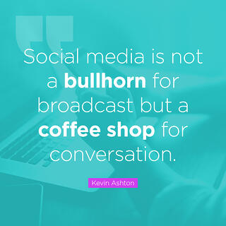Social media quote