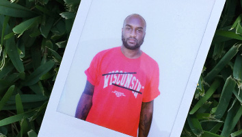 Designer Virgil Abloh's limited edition Red Shirt.