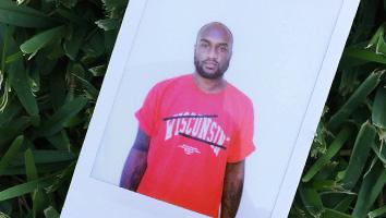Designer Virgil Abloh's limited edition Red Shirt.
