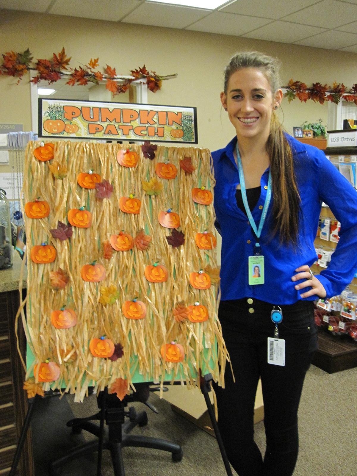 Pick-a-pumpkin with LSC Bookstore