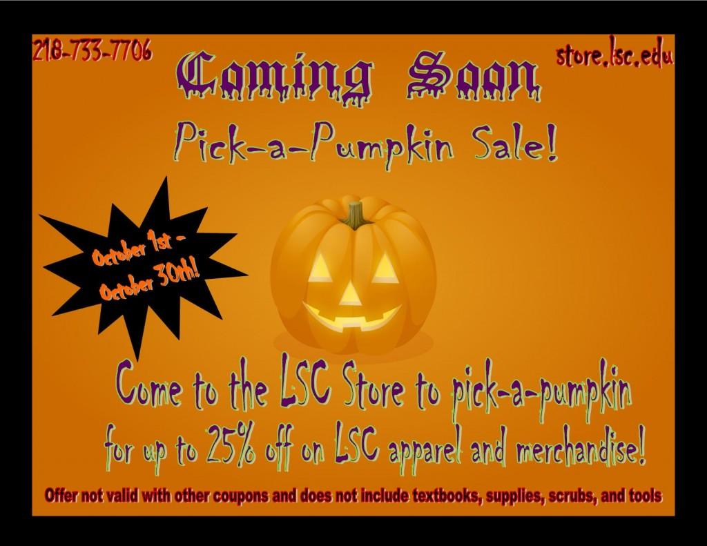 Pick-a-pumpkin ad