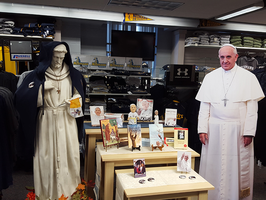 Neumann University Captures Excitement, Interest from Pope's Visit