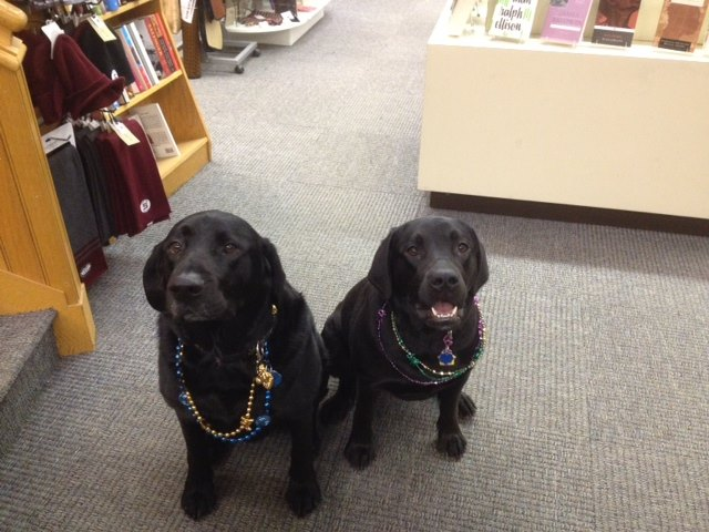 George and Molly, from Swarthmore College Bookstore
