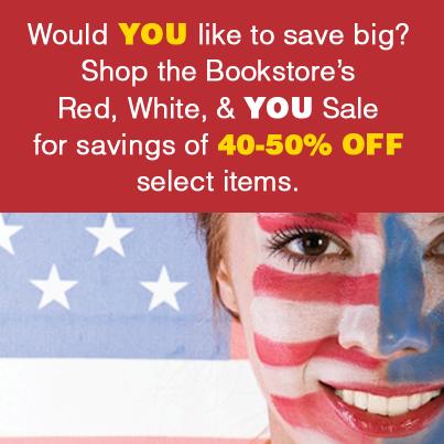 Colgate Bookstore's Red, White and You Sale!