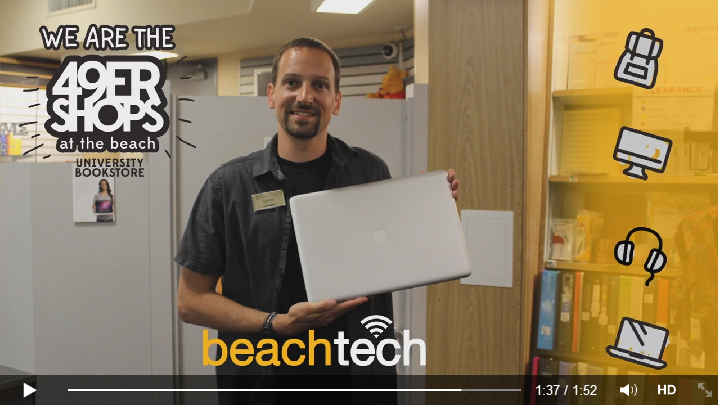 CSULB Bookstore beachtech To The Rescue!
