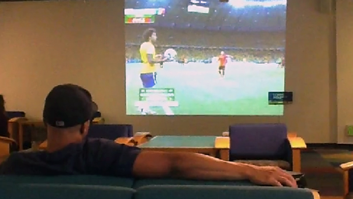 Watch the World Cup on campus!