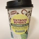 UVU Bookstore's hot chocolate cups.