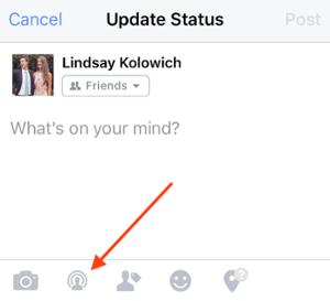 Facebook Live Icon