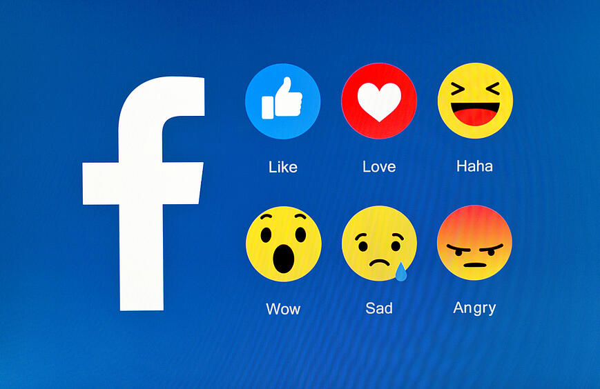 5 New Facebook Reactions Join the Like Button