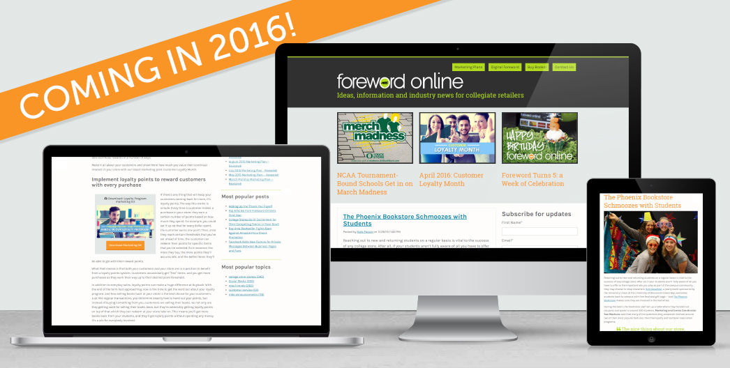 Foreword Turns 5: What's Next for Foreword Online