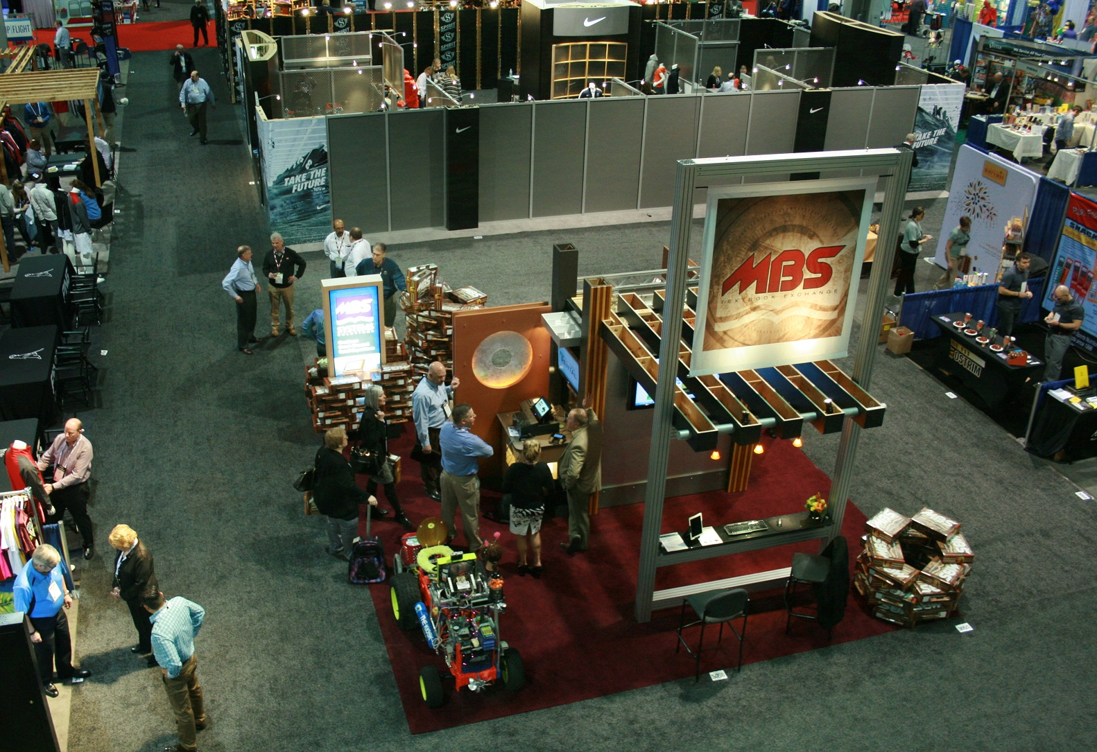 Our booth from CAMEX last year. Will we see you this March?