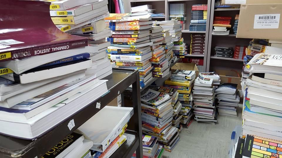Centralia College Bookstore rental return contest