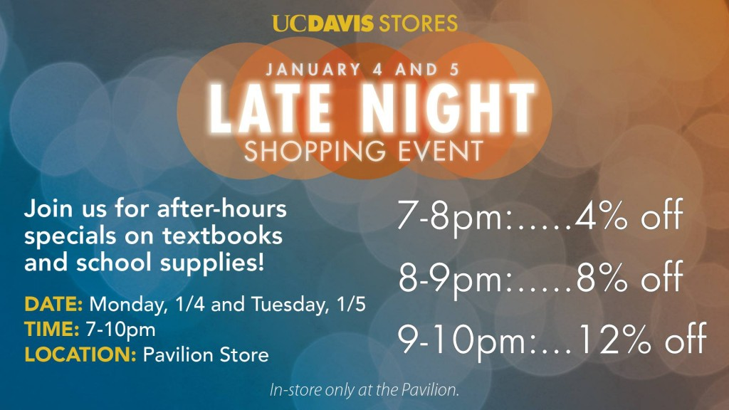 UC Davis Stores' Late Night Shopping Event Turns Into an On-Campus Party