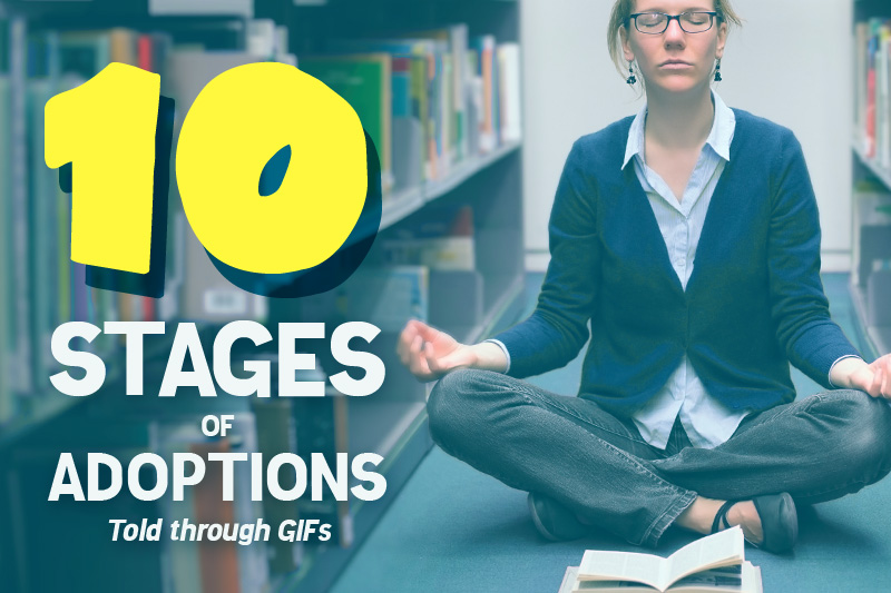 The 10 Stages of Adoptions, Told Through GIFs