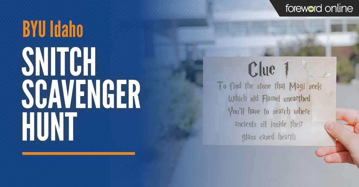 BYU Snitch Scavenger Hunt