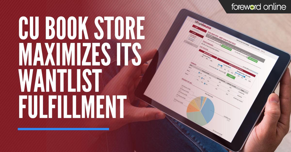 CU Book Store Maximizes Its Want List Fulfillment