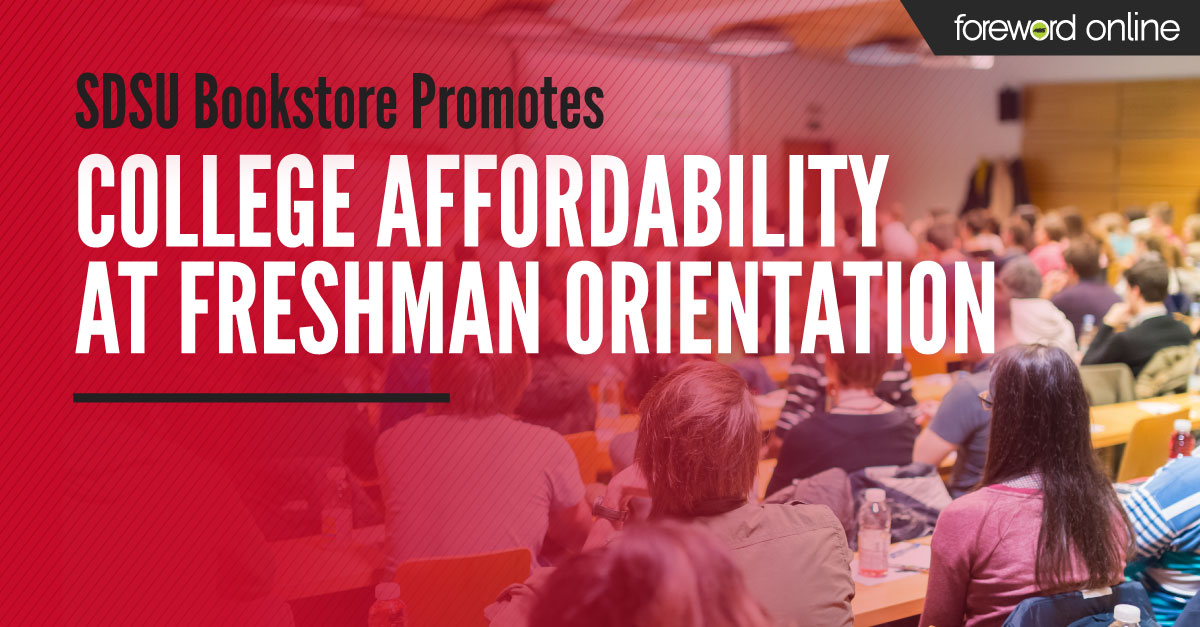 SDSU Bookstore Promotes College Affordability at Freshman Orientation