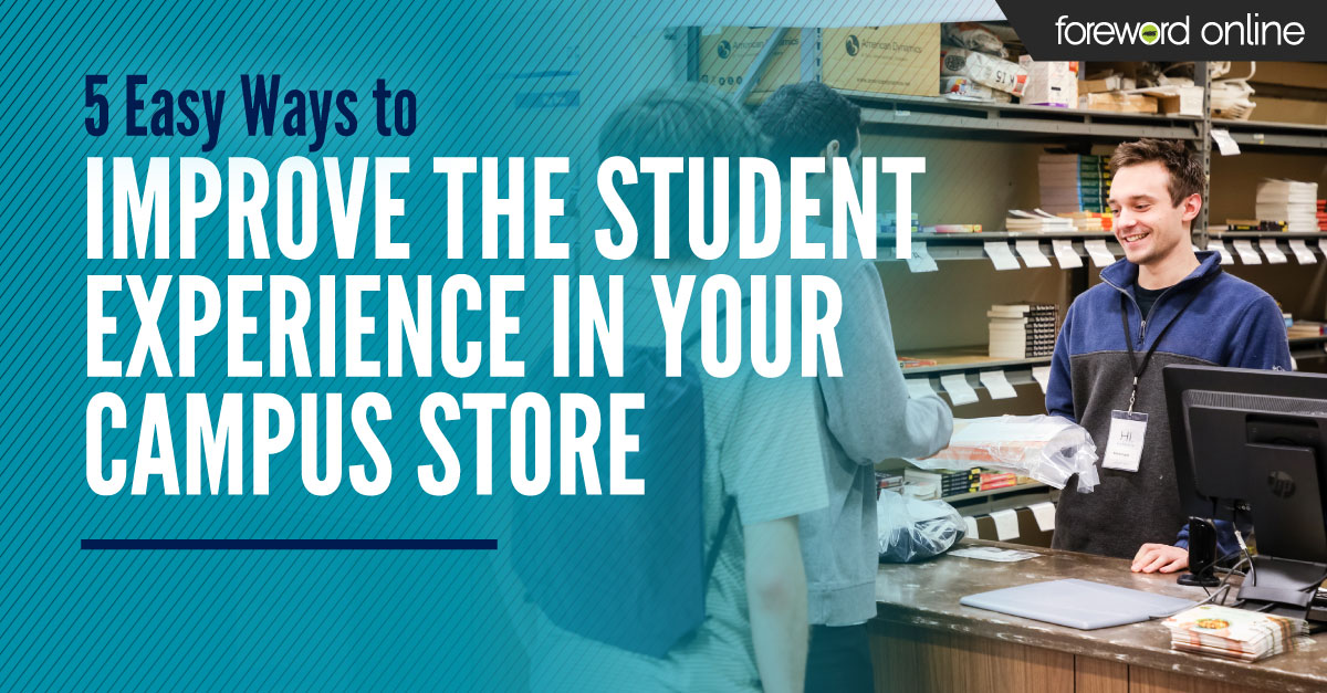 Improve the student experience in your campus store
