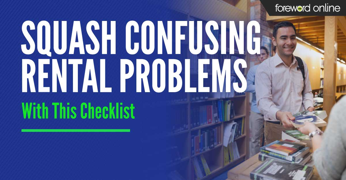 Squash Confusing Rental Problems with This Checklist