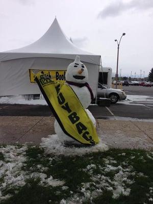 Buyback Snowman