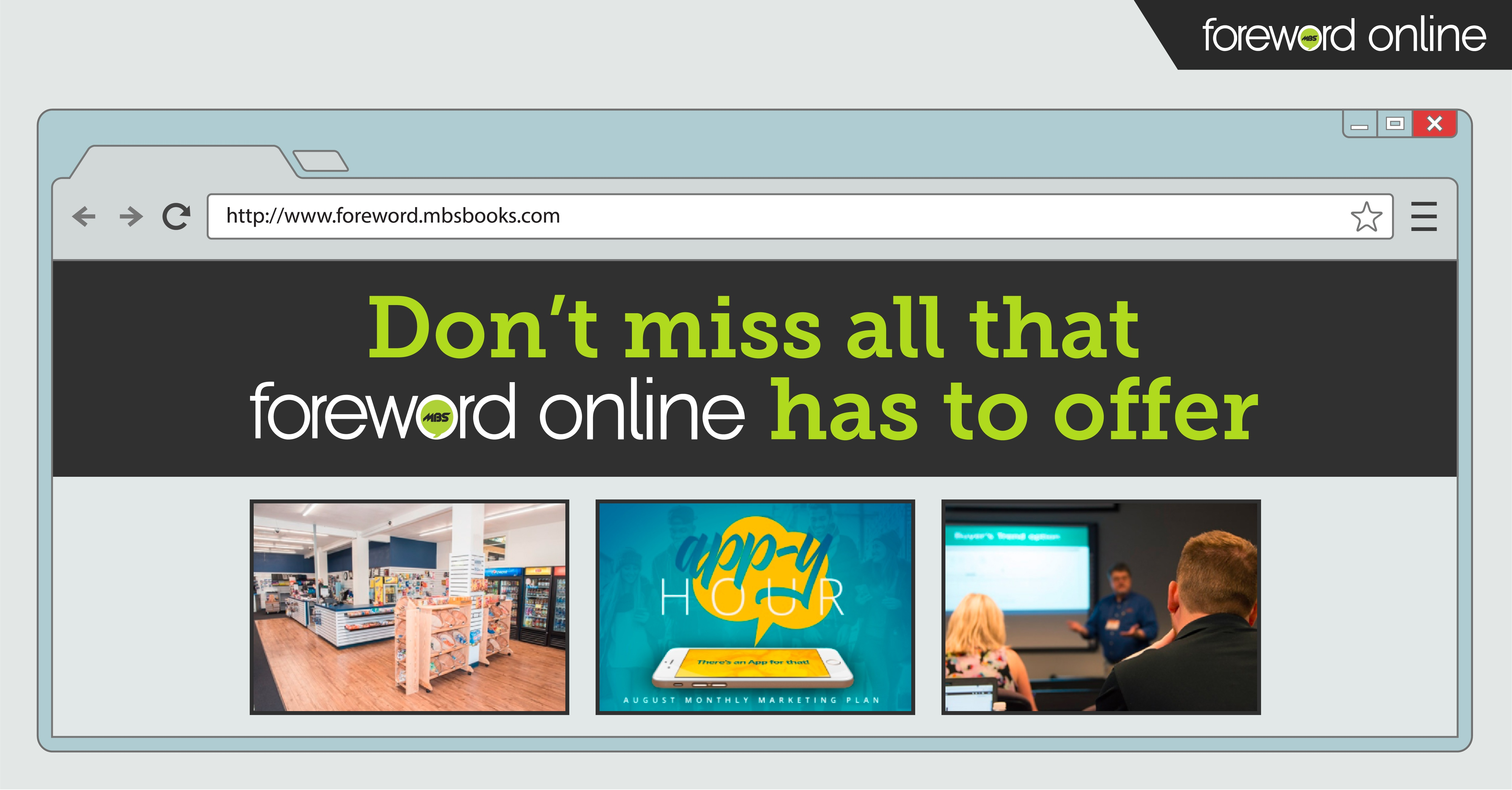 Don't Miss All That Foreword Online Has to Offer