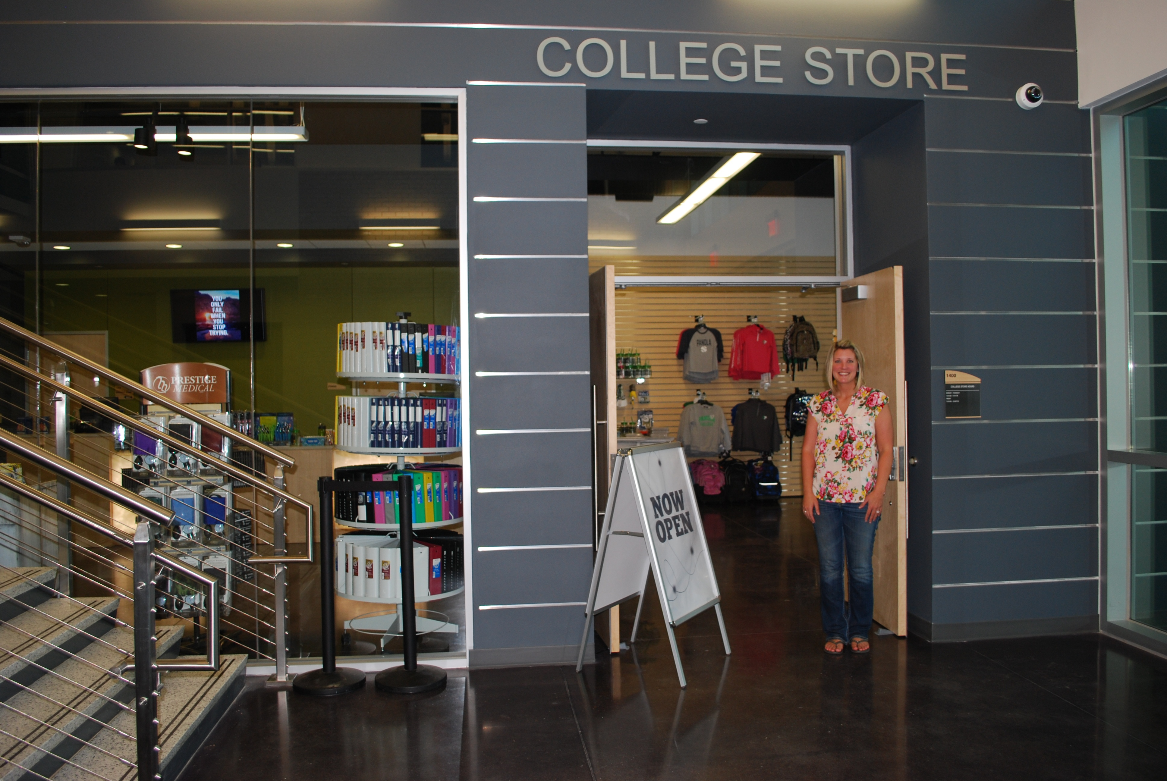 Panola College Store Boosts Sales With a Personalized Touch