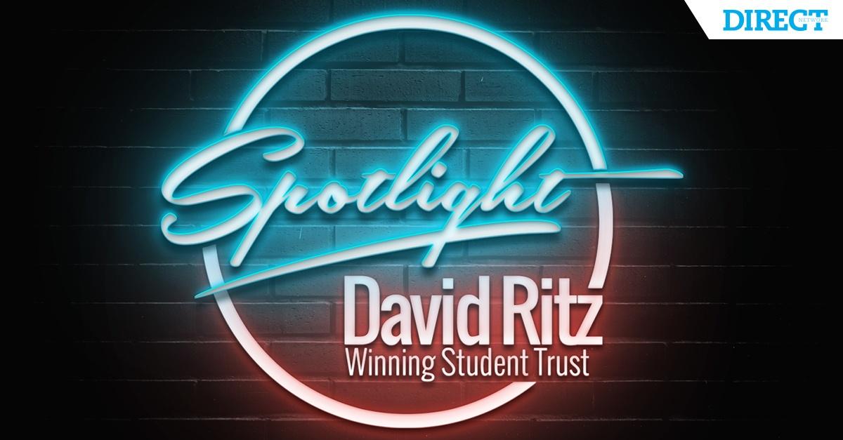 Spotlight David Ritz Winning Student Trust