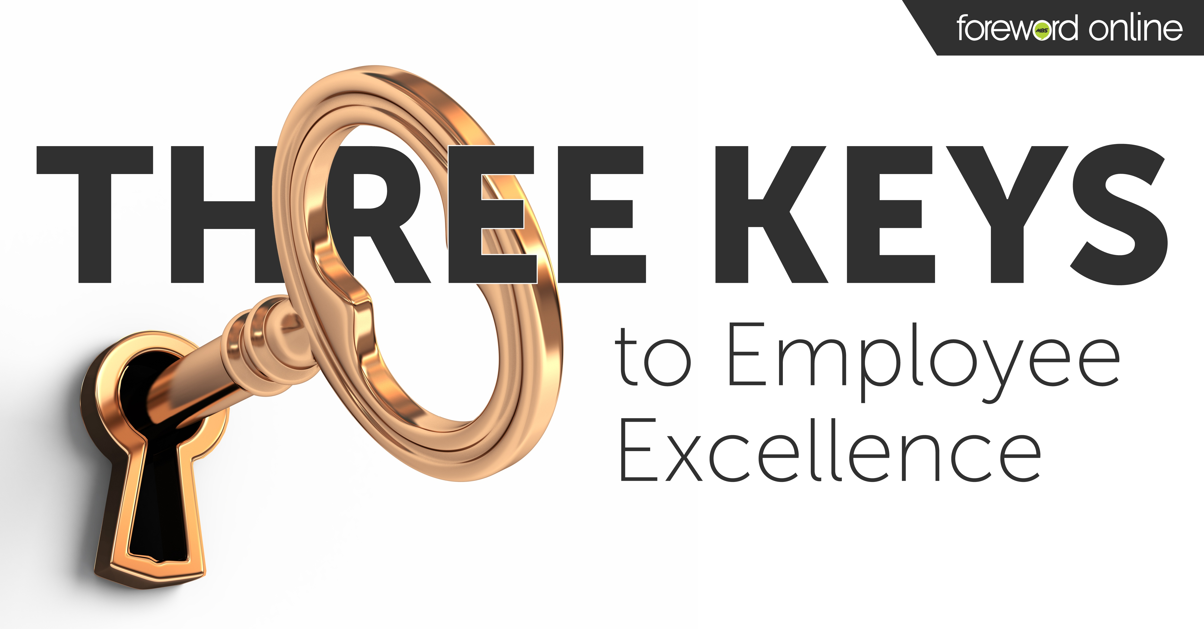 Three Keys to Employee Excellence