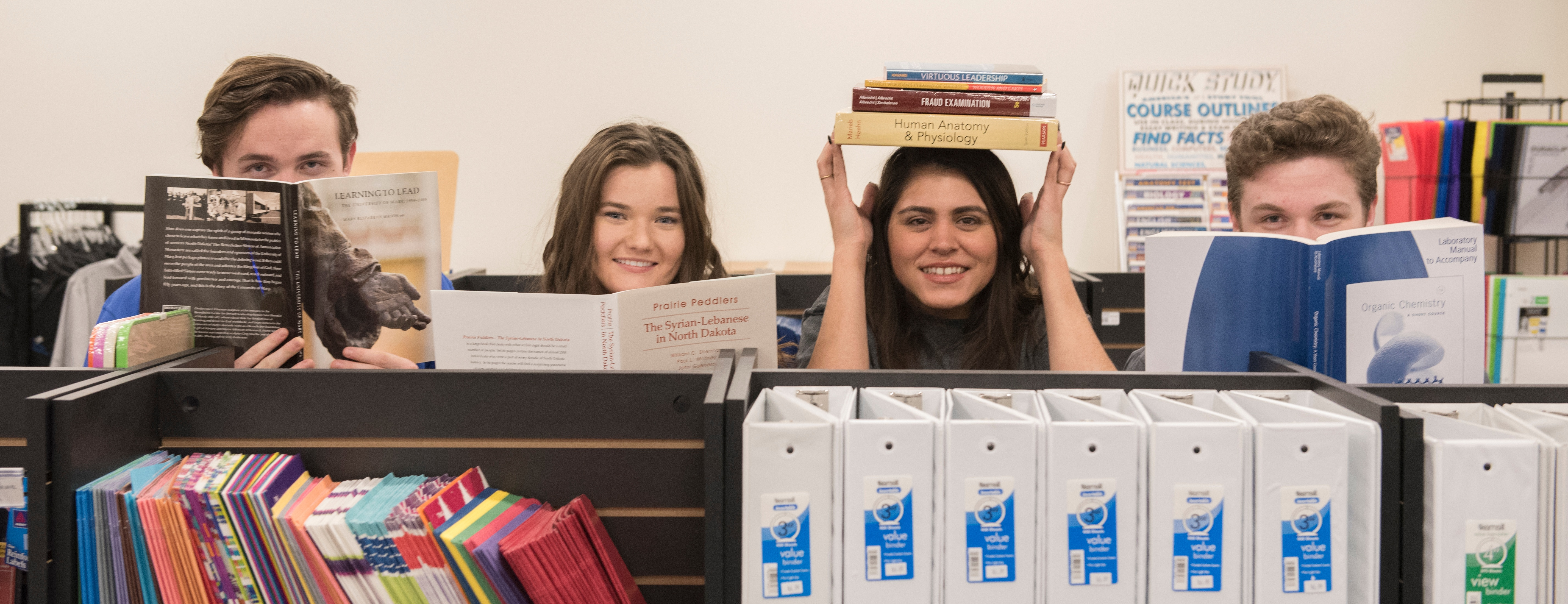 University of Mary Bookstore Makes the Most Out of Its New Locale