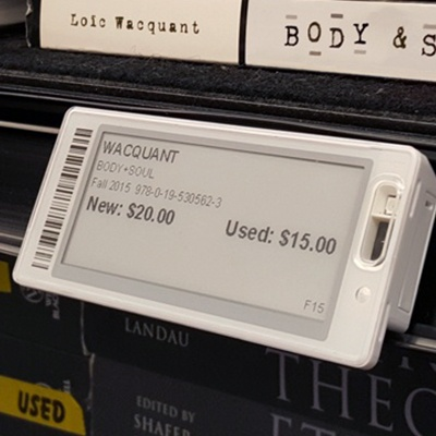 Enhance the student experience with electronic shelf tag