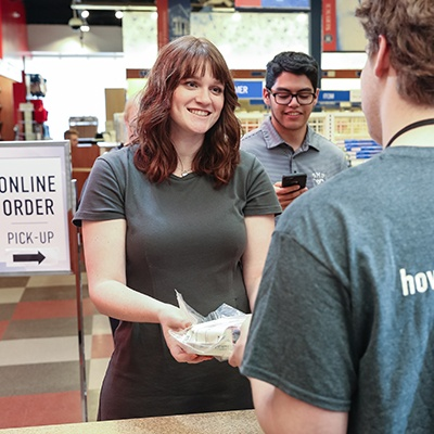 Enhance the student experience with in-store pickup