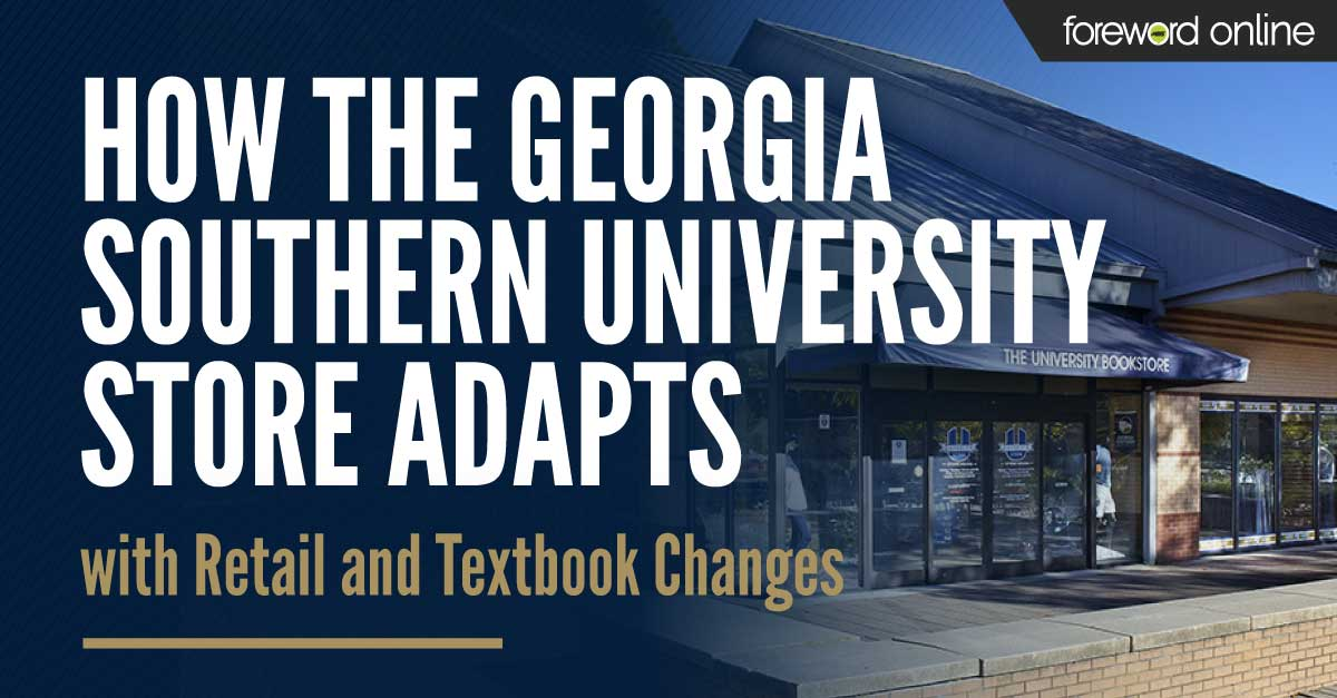How the Georgia Southern University Store Adapts with Retail and Textbook Changes