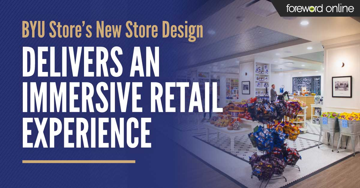 BYU Store's New Store Design Delivers an Immersive Retail Experience