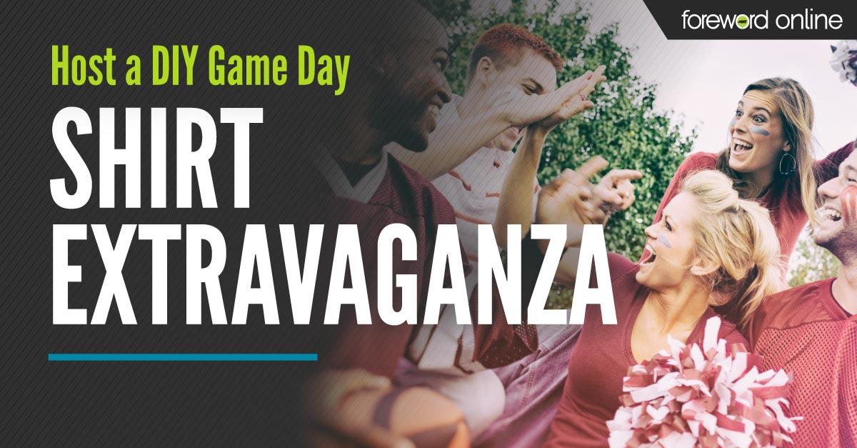 Host a DIY Game Day Shirt Extravaganza