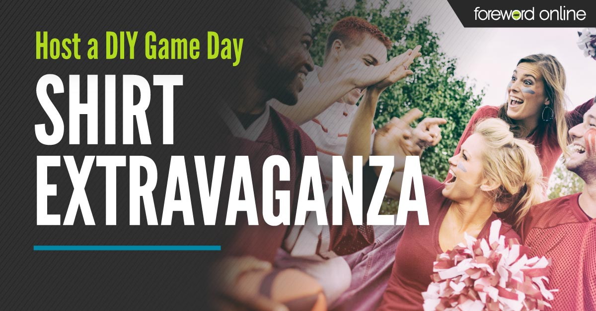 Host a DIY Game Day Shirt Extravaganza