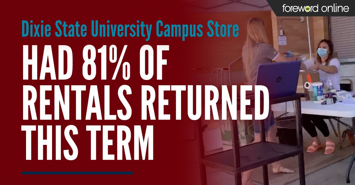 Dixie State University Campus Store Had 81% of Rentals Returned This Term
