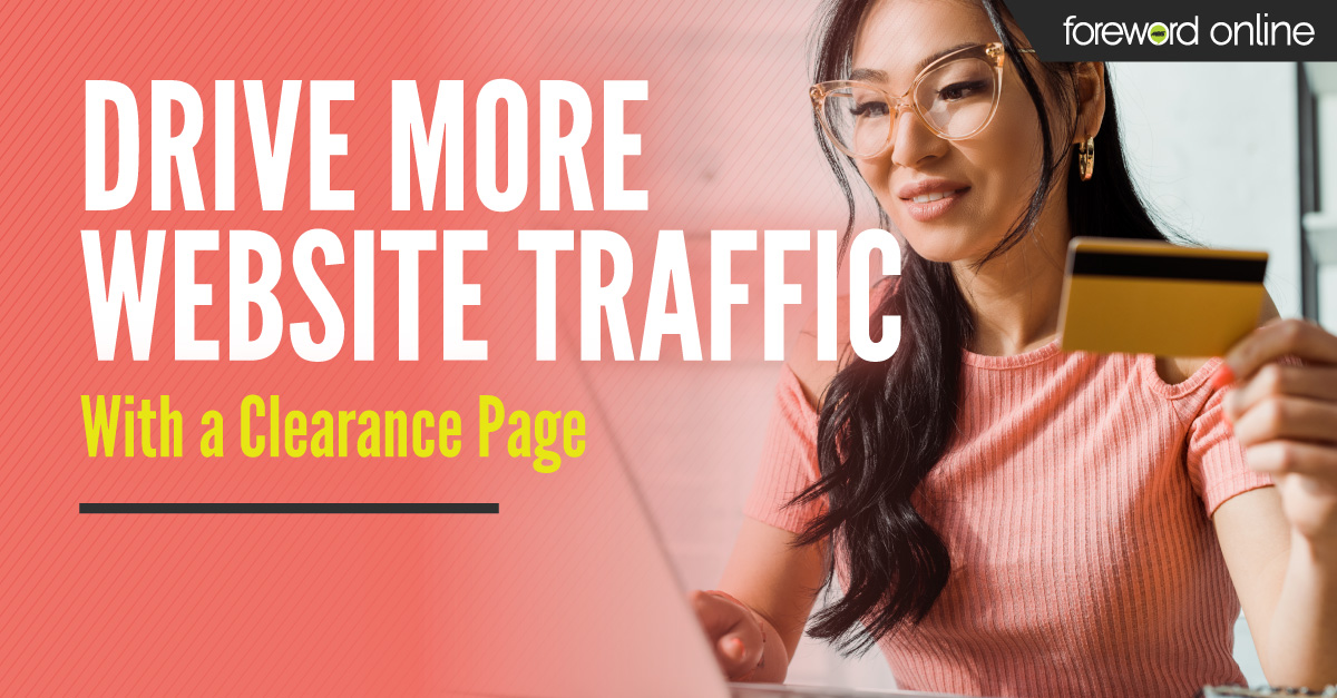 Drive More Website Traffic With a Clearance Page