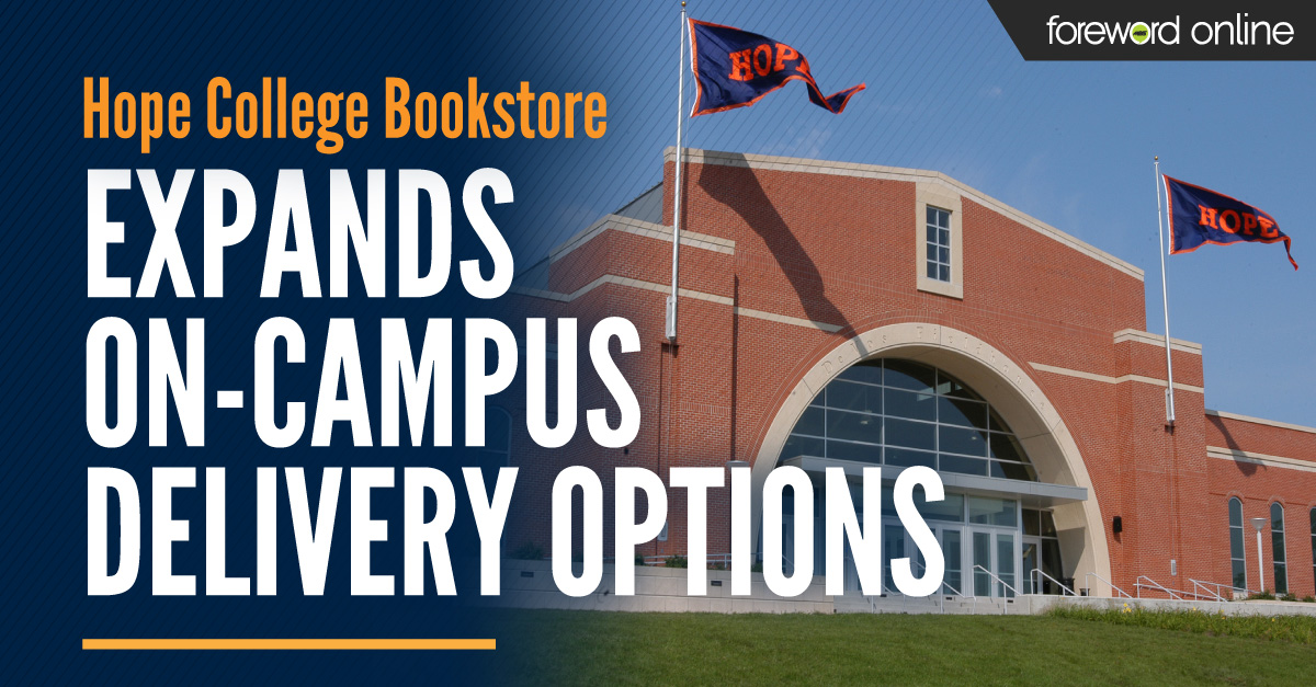 Hope College Bookstore Expands On-campus Delivery Options